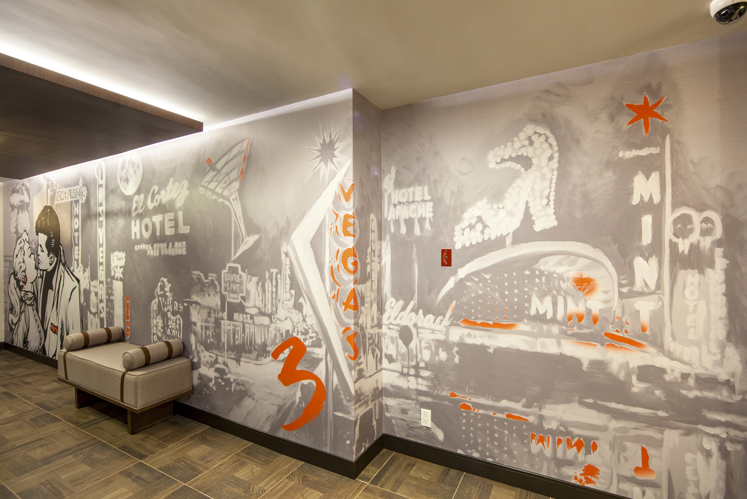 El Cortez Hotel & Casino, located in the heart of Downtown Las Vegas, started the renovation of 73 of its Tower Rooms.