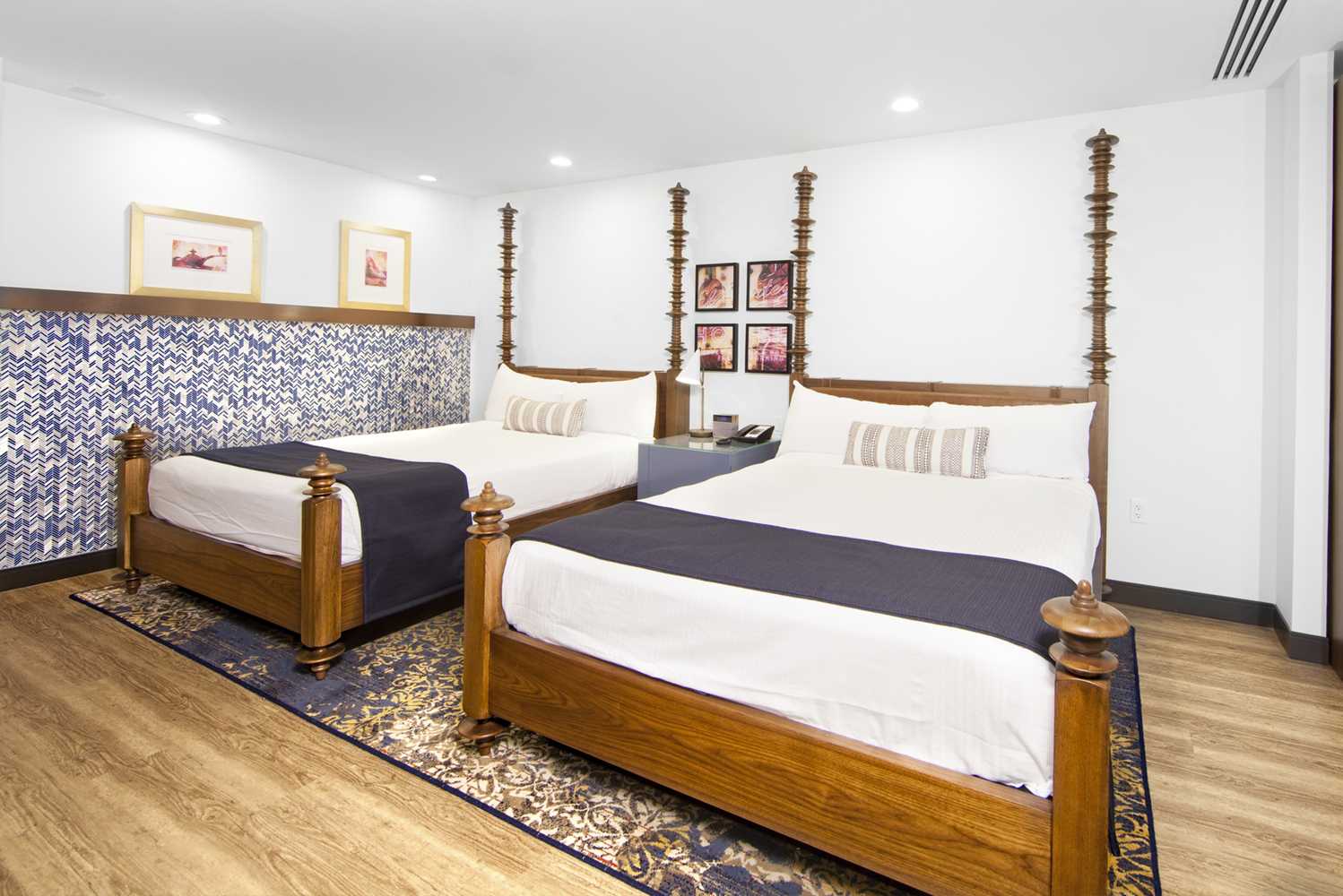The rooms will also be incorporating Spanish Colonial style.