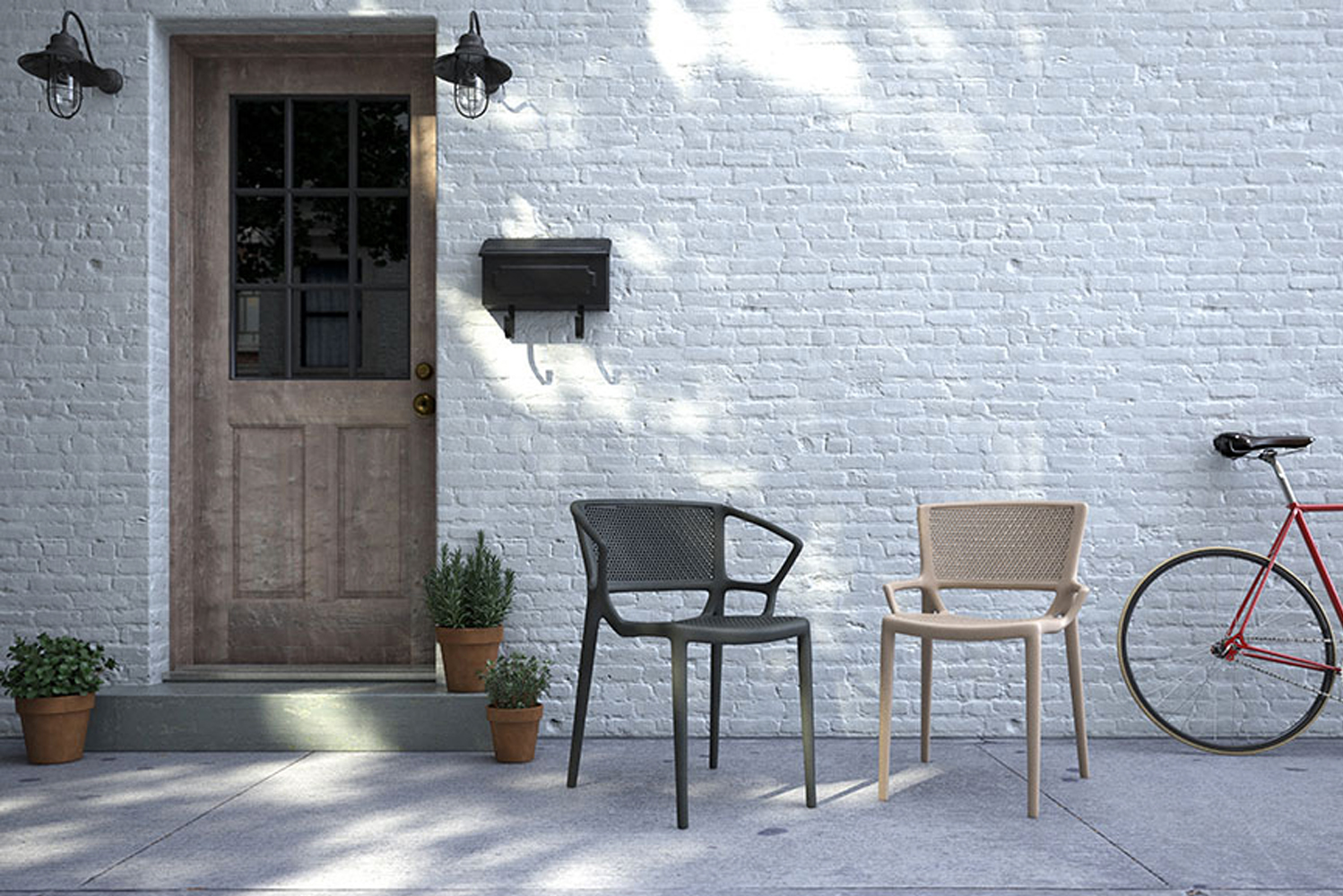 Community Furniture launched Florette, an indoor-outdoor stackable seating ideal for hospitality venues.
