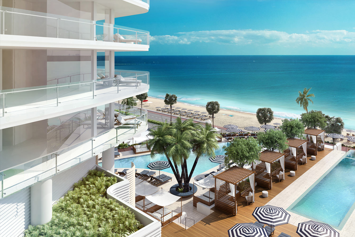 Four Seasons Hotel and Private Residences Fort Lauderdale is being developed by Fort Partners as the newest property of Four Seasons Hotels and Resorts.