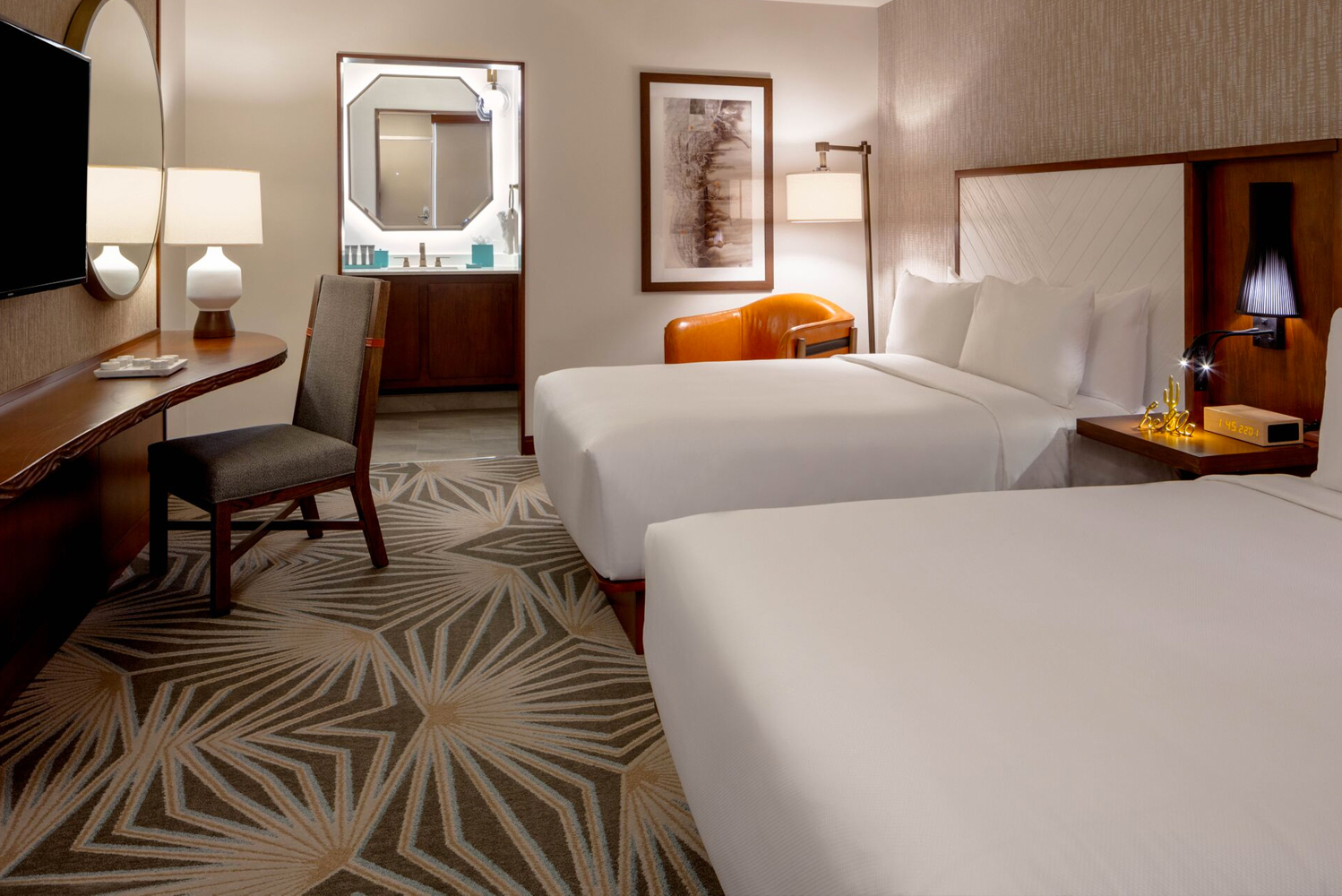 The property now has 213 guestrooms, including five 700-square-foot king suites.