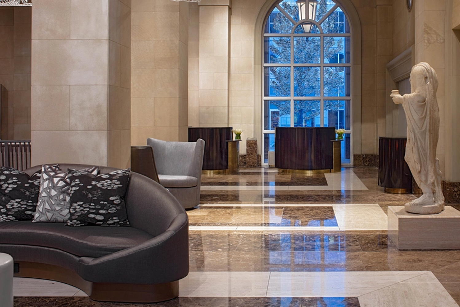 Hotel Crescent Court – a property located in Dallas' Uptown – completed a year-long $33 million overhaul.