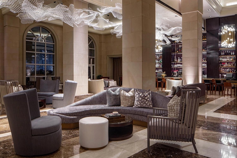Dallas-based architectural design firm waldrop + nichols studio oversaw the hotel's renovation.