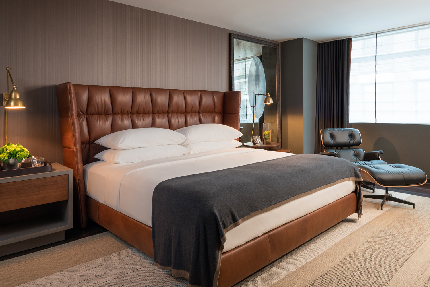Kimpton Nine Zero revealed its top-to-bottom transformation that gives nods to Boston history.