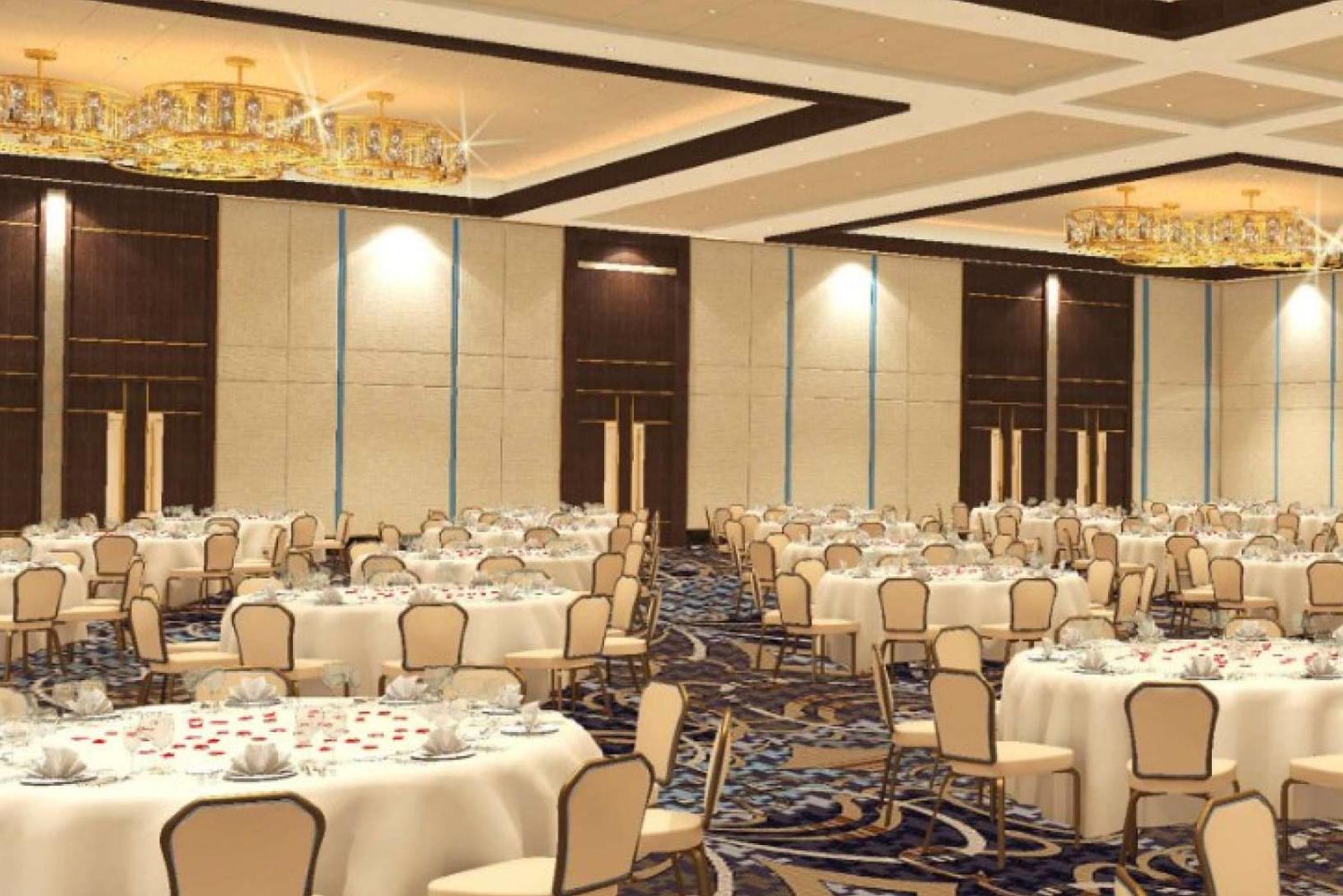 For events, the property will have approximately 42,500 square feet of space. Photo credit: MGM Resorts International