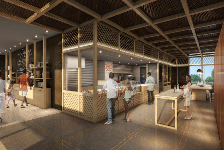 The design was led by Tatsuro Sasaki of Tatsuro Sasaki Architects.