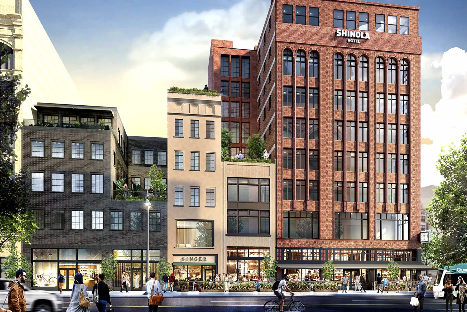 Shinola and Detroit-based real estate firm Bedrock will launch the first Shinola Hotel in the Motor City this fall.