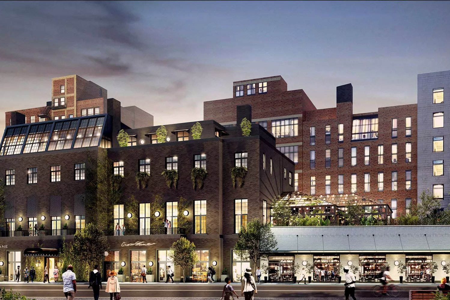 In the design of the property, involved are New York-based Gachot Studios and locally-based Kraemer Design Group, which will serve as the architect of record.
