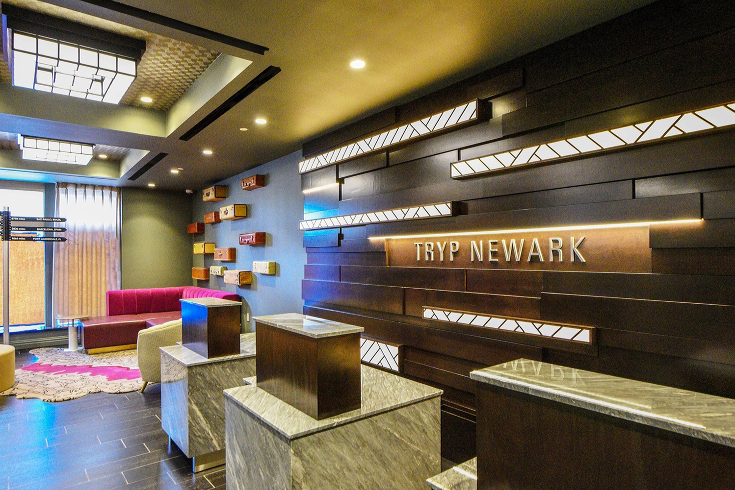 Wyndham Hotel Group opened its latest TRYP by Wyndham hotel in downtown Newark, N.J.