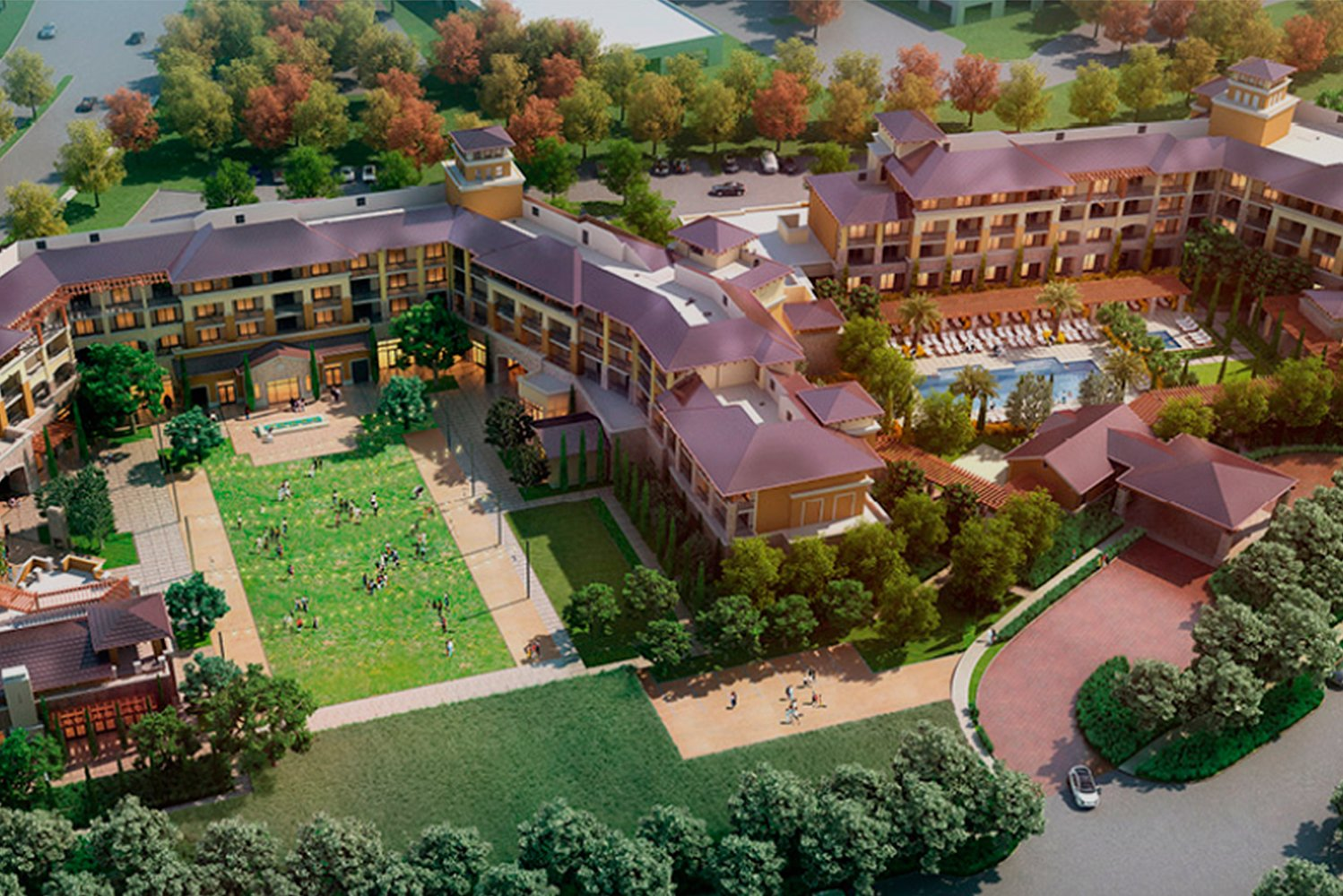 The Vista Collina Resort from Pacific Hospitality Group is scheduled to open in Napa Valley, California this July.