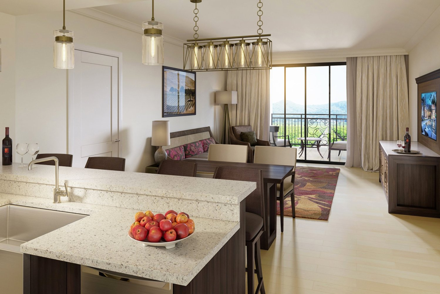 Costa Mesa, California-based Hatch Design Group will oversee the resort's interiors, which will reflect a Tuscany-inspired aesthetic.