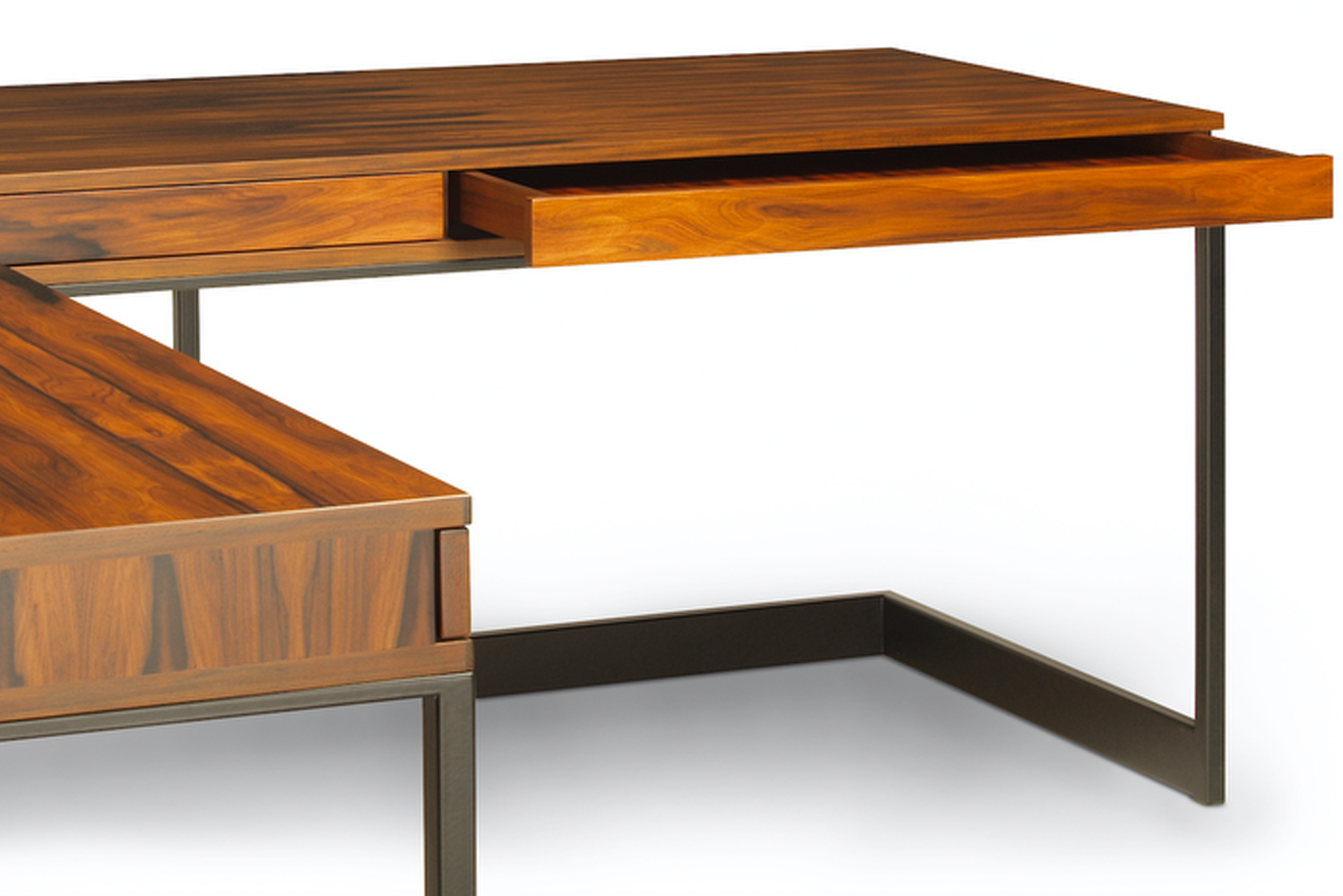 Skram Furniture launched a new addition to its Wishbone collection, the Wishbone executive desk.