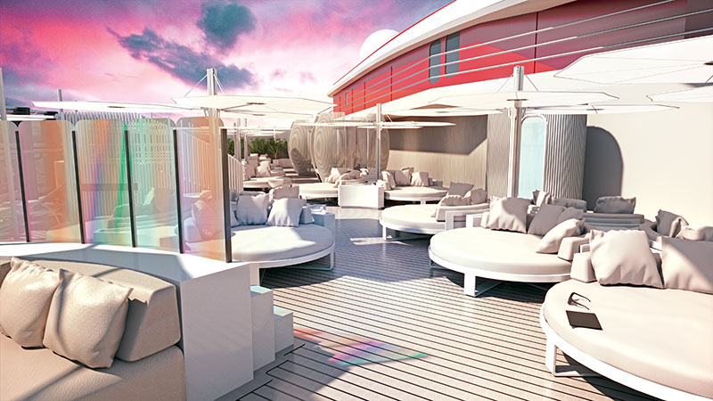 The Richard's Rooftop VIP-only area