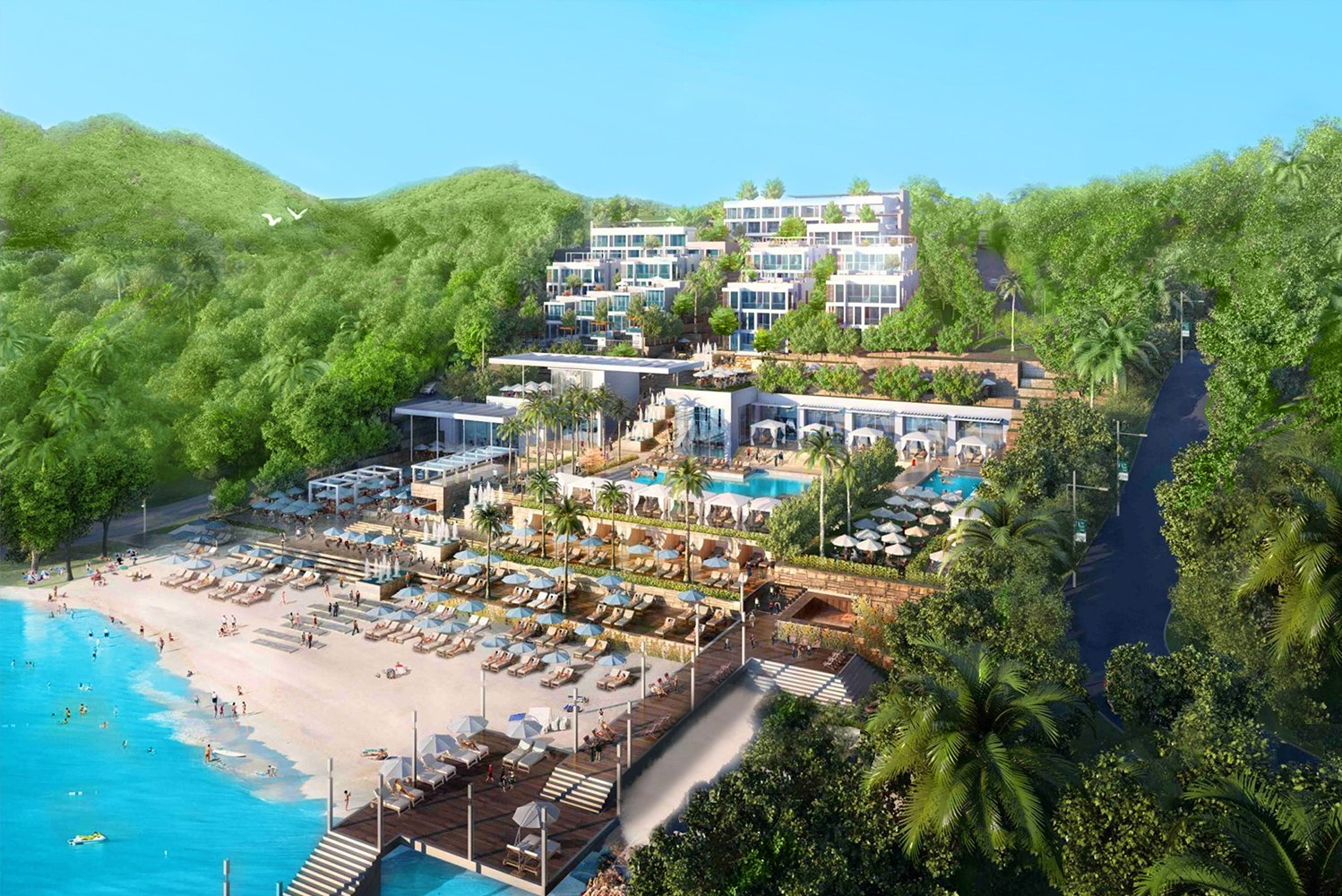The Bodrum Edition opened three kilometers from Yalikavak Marina at the western point of the Bodrum peninsula.