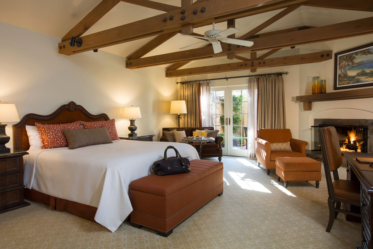 Casa Palmero completed a refresh to its 24 guest accommodations.