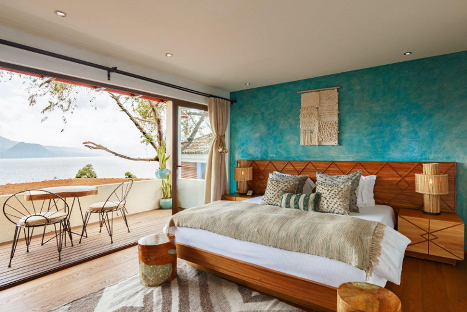 Industrial designer Diego Olivero oversaw the design of the new rooms.