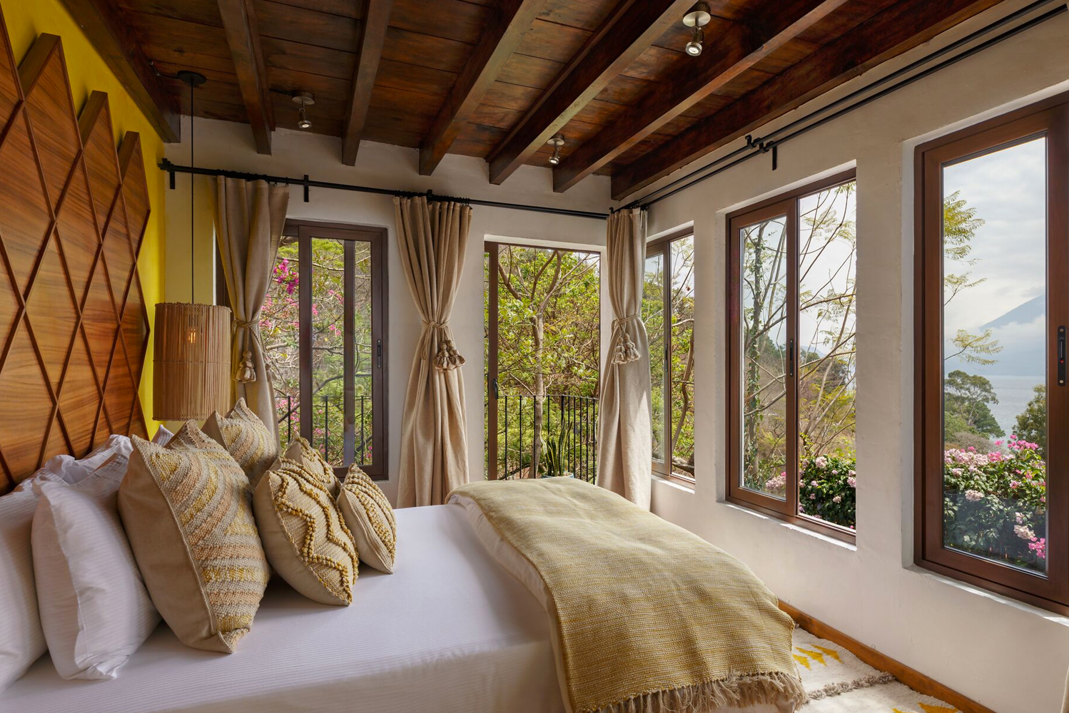 Casa Palopó, a property located in Guatemala, completed the addition of six new rooms and suites, bringing the total room count to 15.