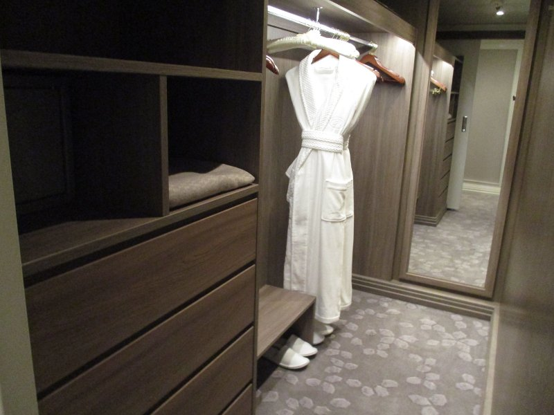Concierge Suite Closet // Photo by Susan J. Young