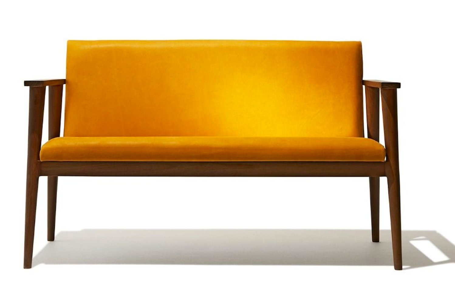 The seating is said to be inspired by classic Scandinavian furniture of the 1950s and 1960s.