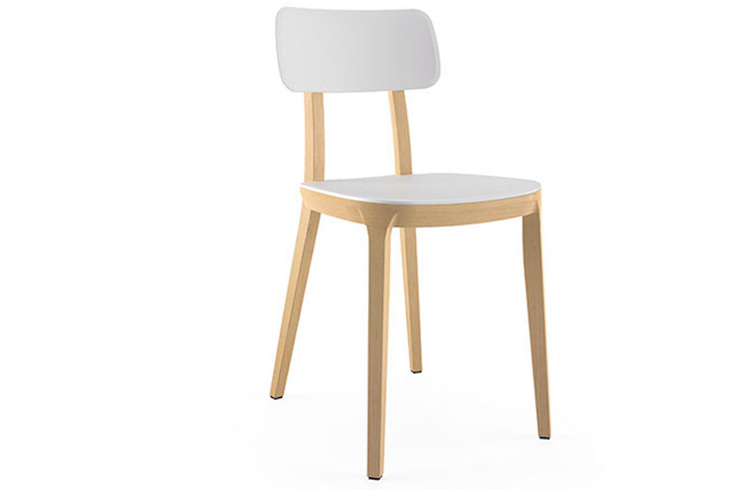 It is available in four options: chair, bar stool, counter-height stool and lounge.