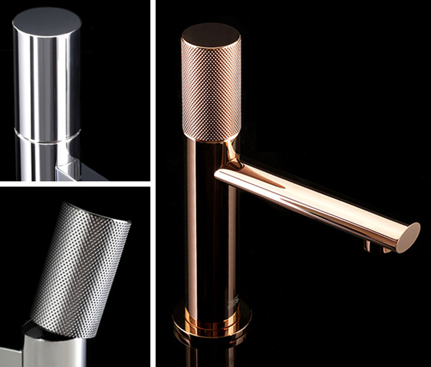 Franz Viegener debuted two new single hole faucets, both additions to the Lollipop and Nerea series.