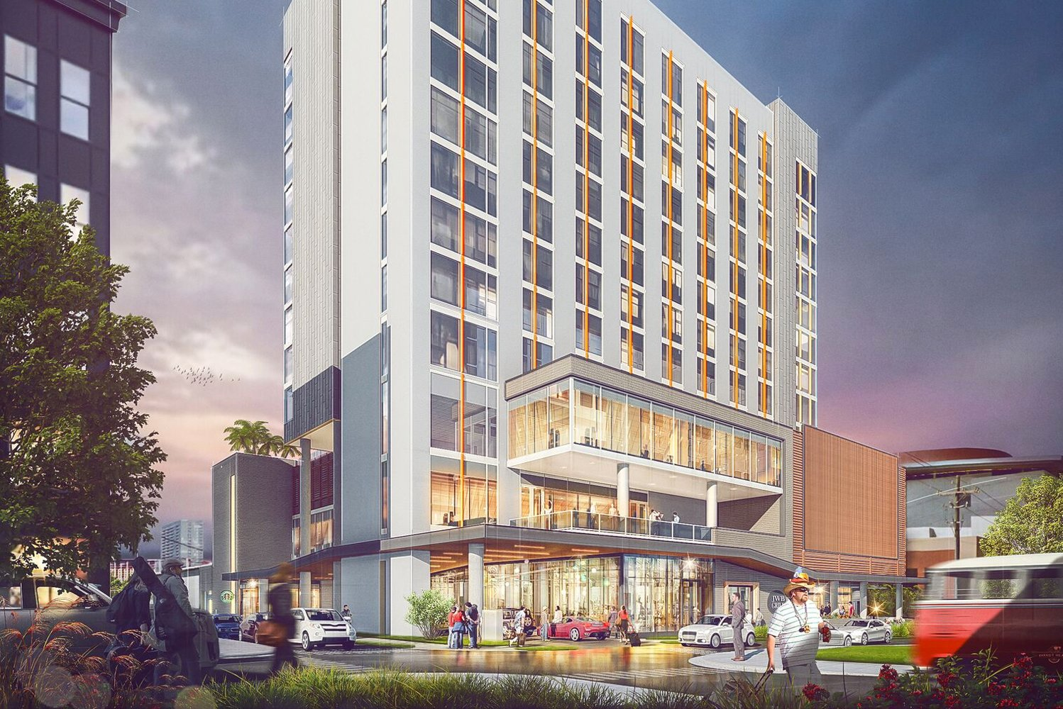 Margaritaville Nashville Hotel is scheduled to open in summer 2019.