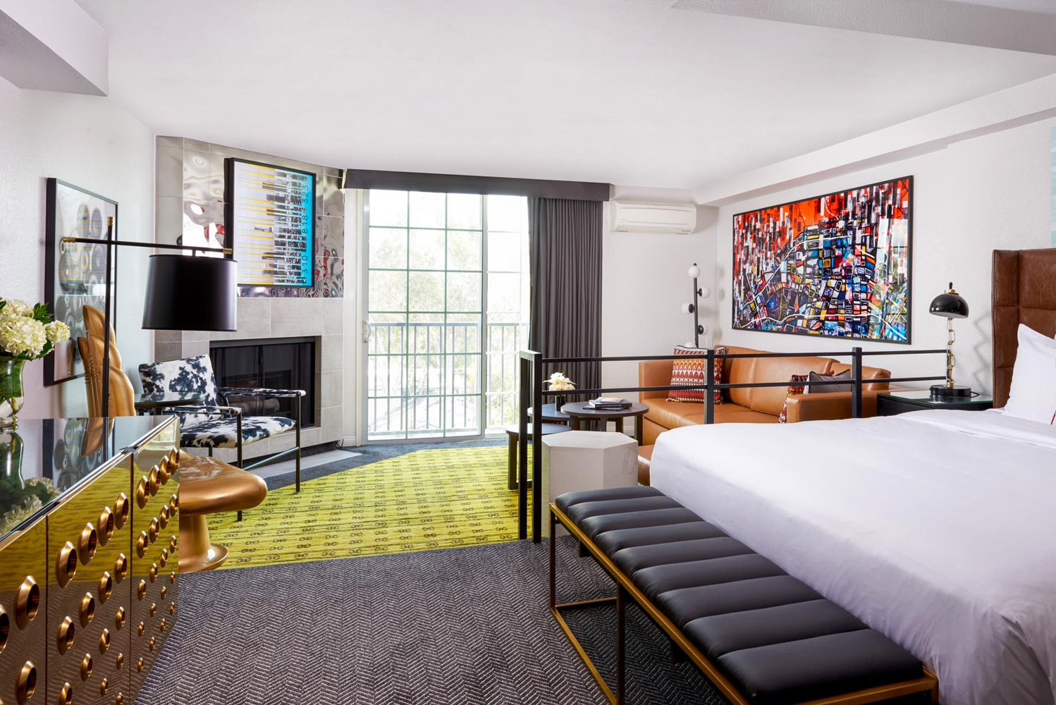 Montrose West Hollywood worked with designer Jackie McGee of Perkins+Will to transform the hotel.