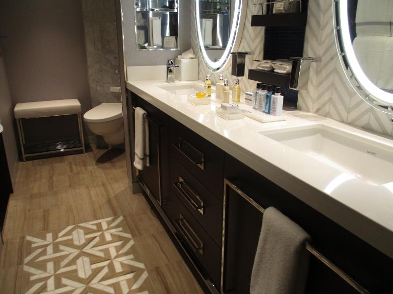 Penthouse Suite Bathroom // Photo by Susan J. Young