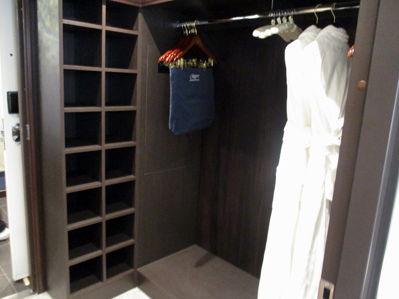 Penthouse Suite Closet // Photo by Susan J. Young