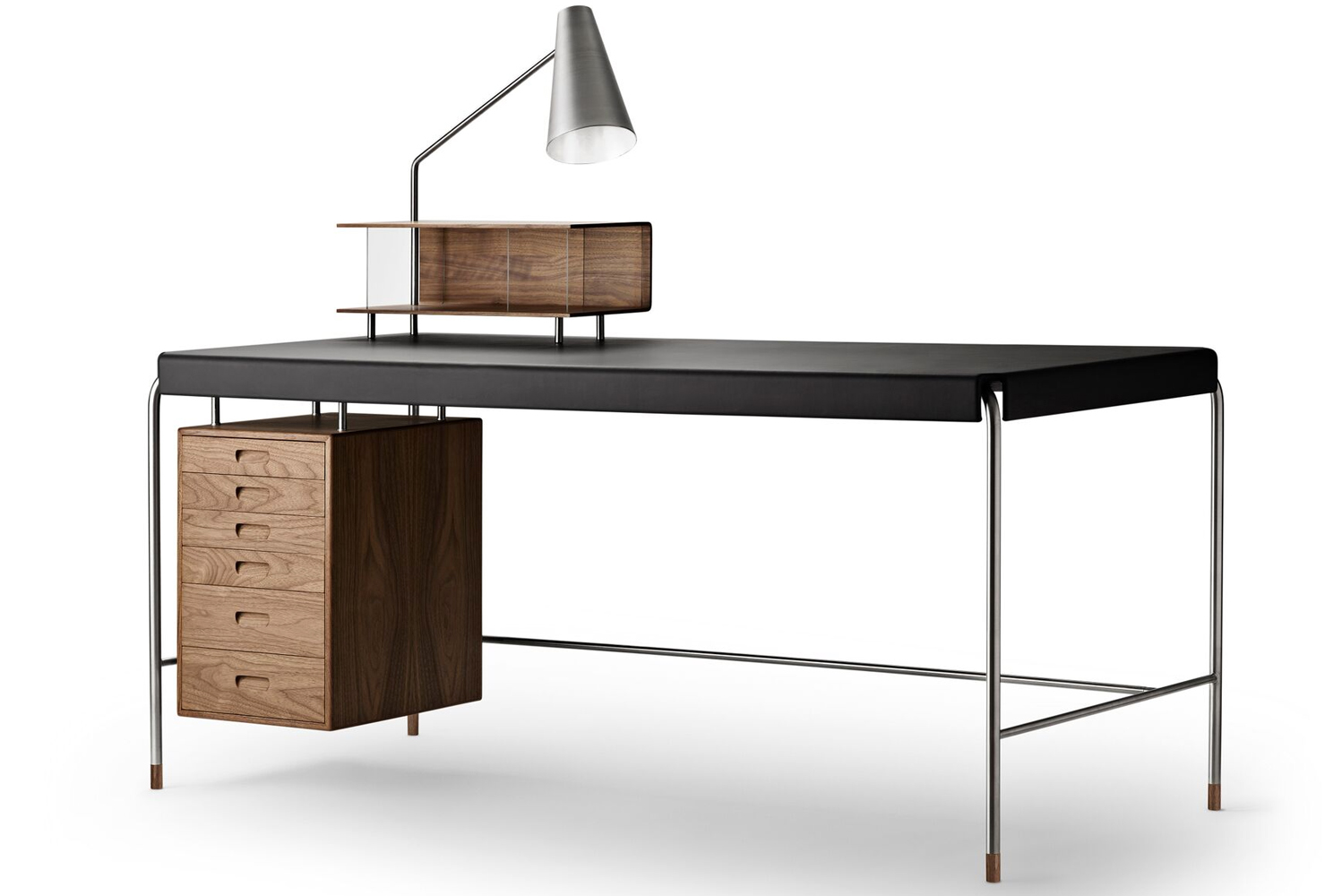 The Society table by Arne Jacobsen will be available starting this September.