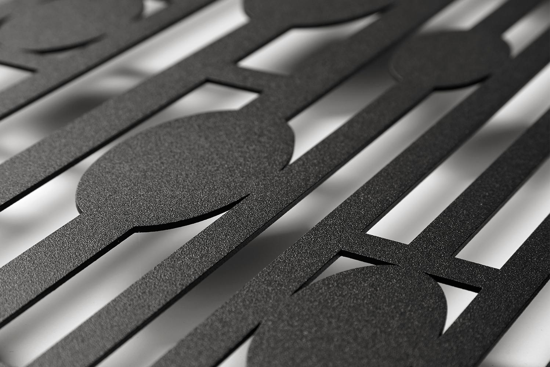 AJK Design Studio launched the Werkstätte series of modernist metalworks.
