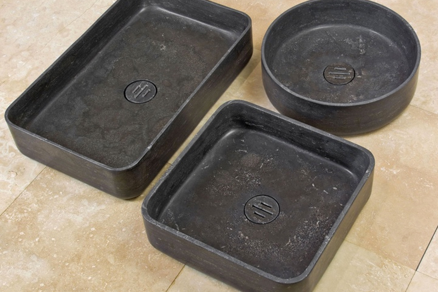 Introducing the Contour vessel sinks by Stone Forest.