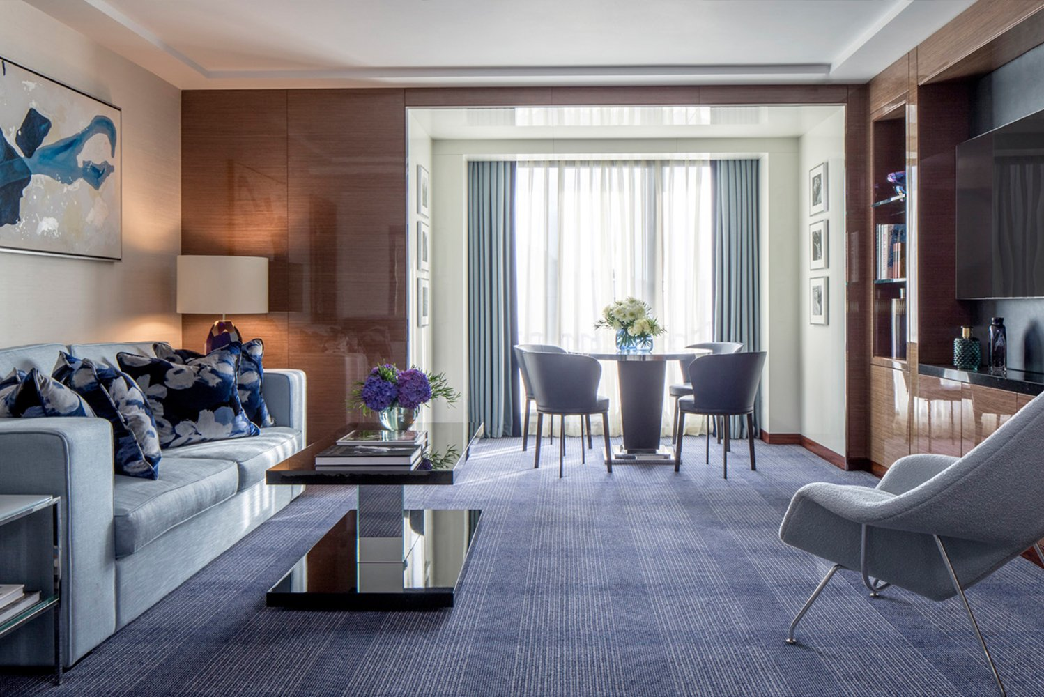 Four Seasons Hotel London at Park Lane partnered with jeweler, House of Garrard, for its seven new Ambassador Suites.