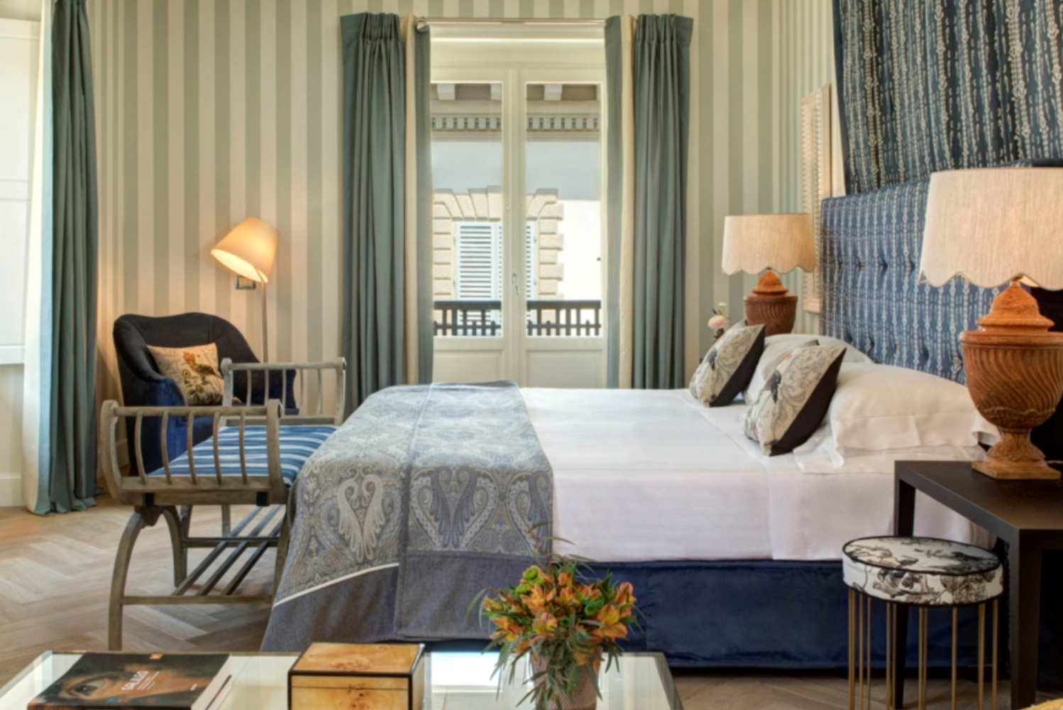 The Hotel Savoy, a Rocco Forte Hotel in Florence, Italy, opened its new Duomo Presidential Suite.