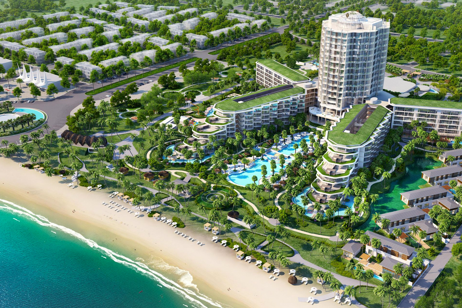 InterContinental Phu Quoc Long Beach Resort opened as the latest addition to the InterContinental Hotels & Resorts brand in Vietnam.