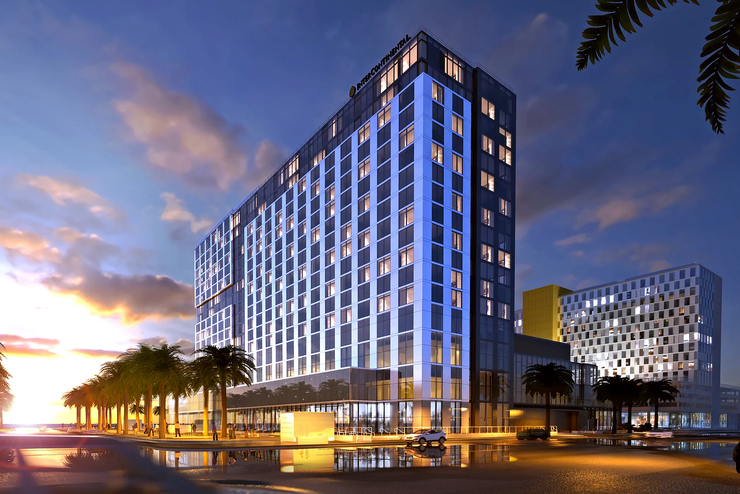 InterContinental San Diego is scheduled to open this September.