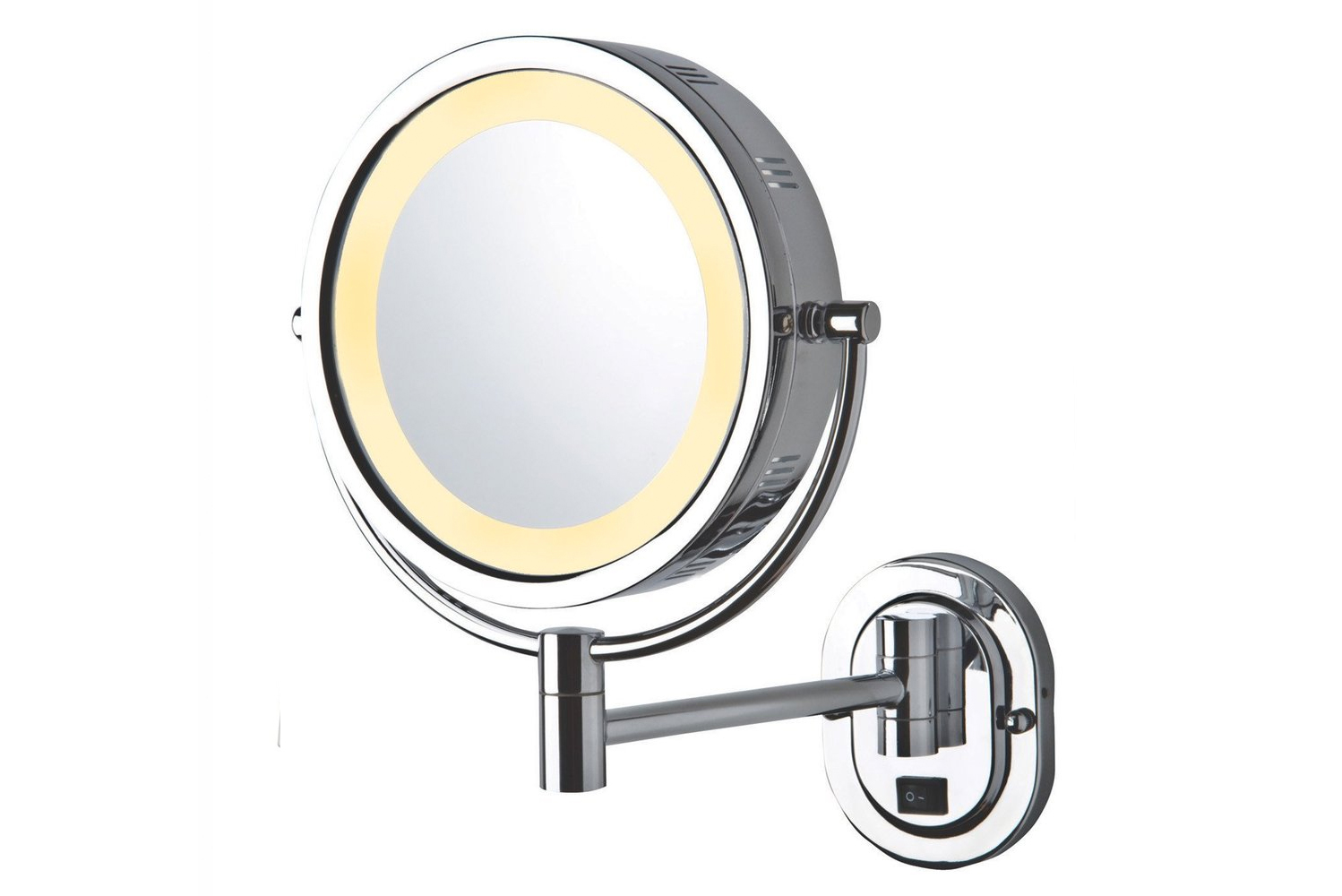 These mirrors are operated on rechargeable battery, making it non-reliant on space or need of a plug.