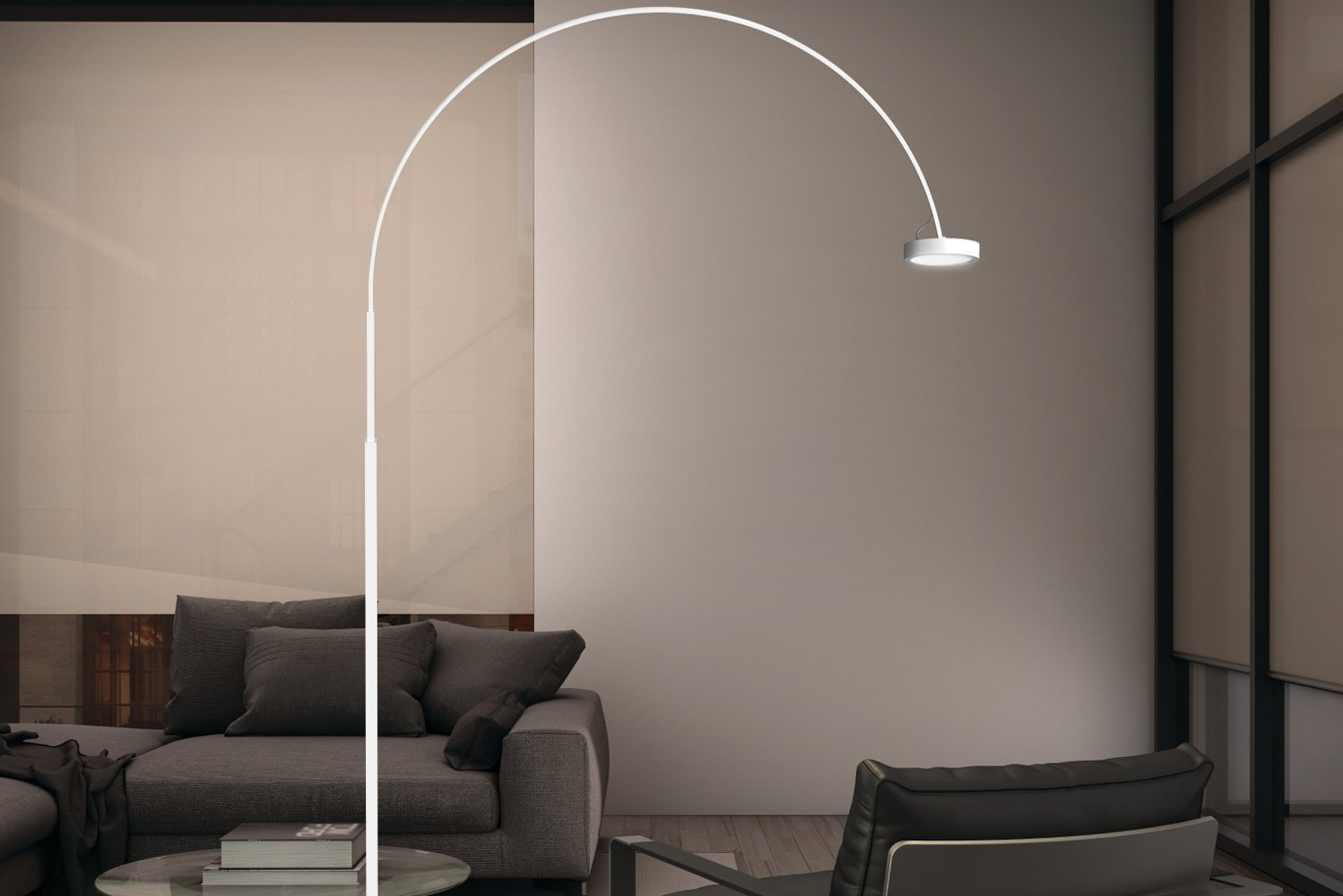The Pluck lamp lens demonstrates technological innovation through the incorporation of four layers of film diffusion.