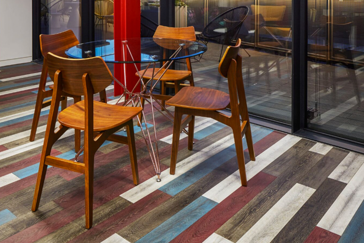 These engineered planks were designed in response to those who want the look and feel of hardwoods without going over budget.