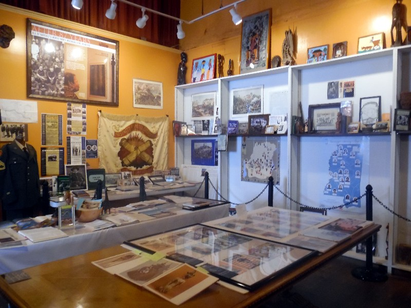 Exhibits within the Natchez Museum of African-American History and Culture