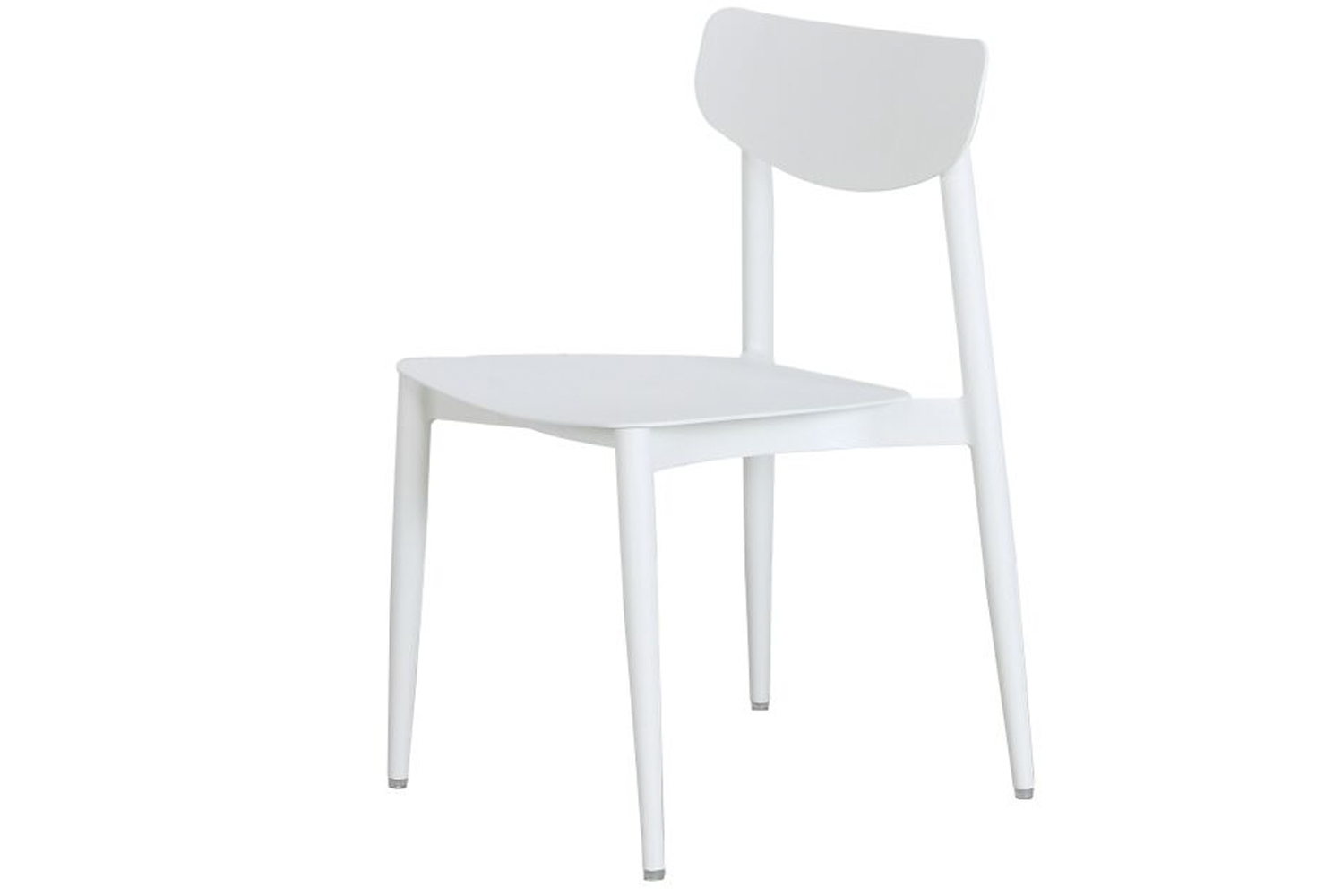 Each of the chair's upper bodies have a curvilinear support, adding both style and stability.