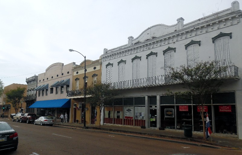 Downtown Natchez has an antique district plus eclectic shops. Photo by Susan J. Young