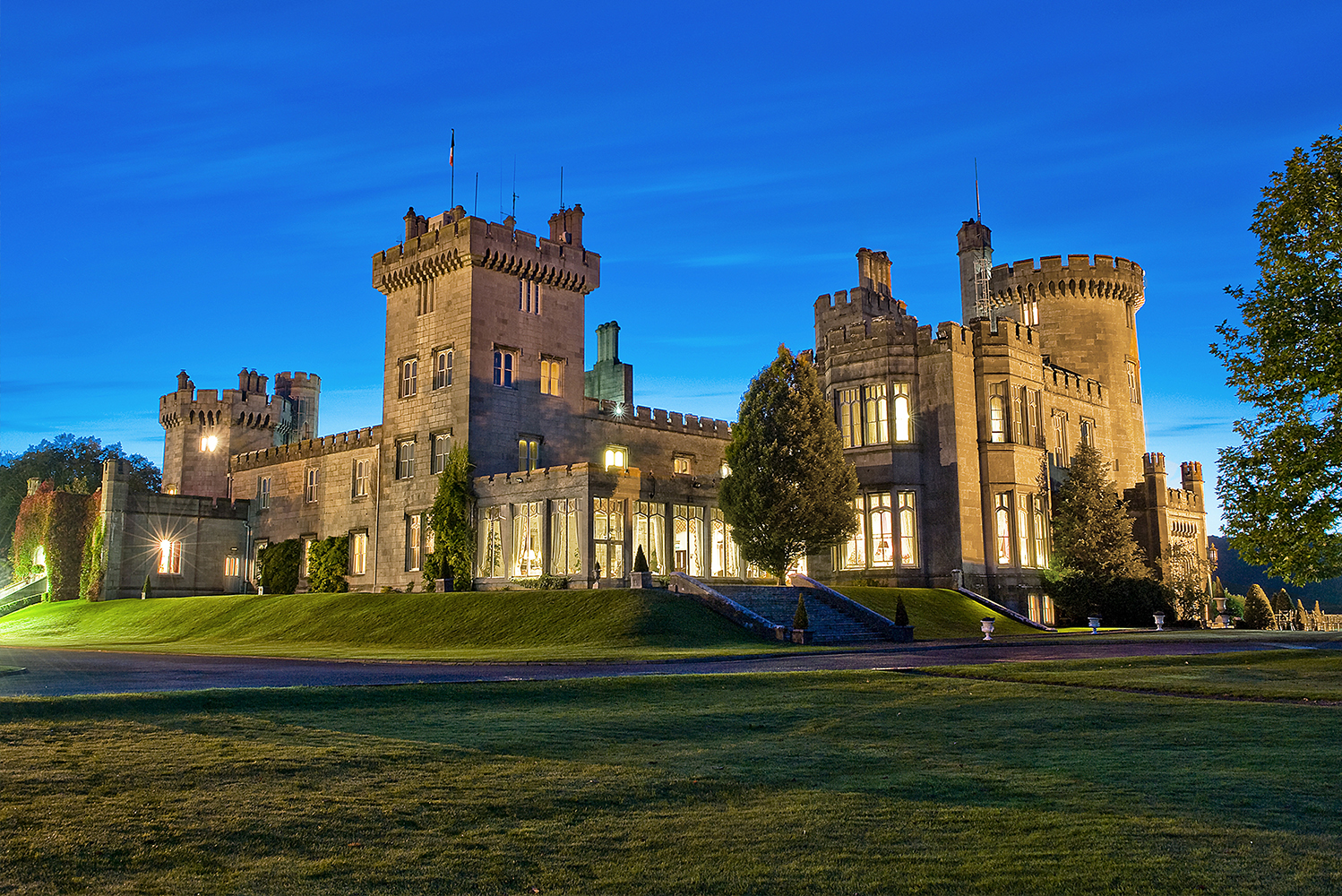 Dromoland Castle, the 16th century castle hotel in County Clare, Ireland completed the final phase of a €20 million refurbishment.