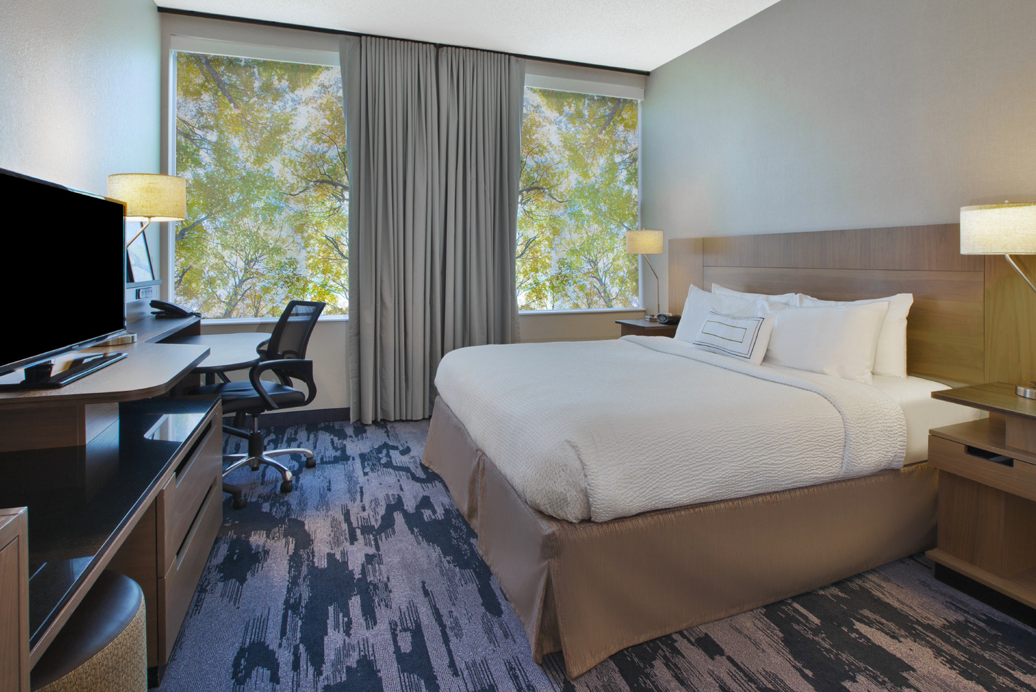 Fairfield Inn & Suites Milwaukee Downtown completed $1.5 million in improvements.