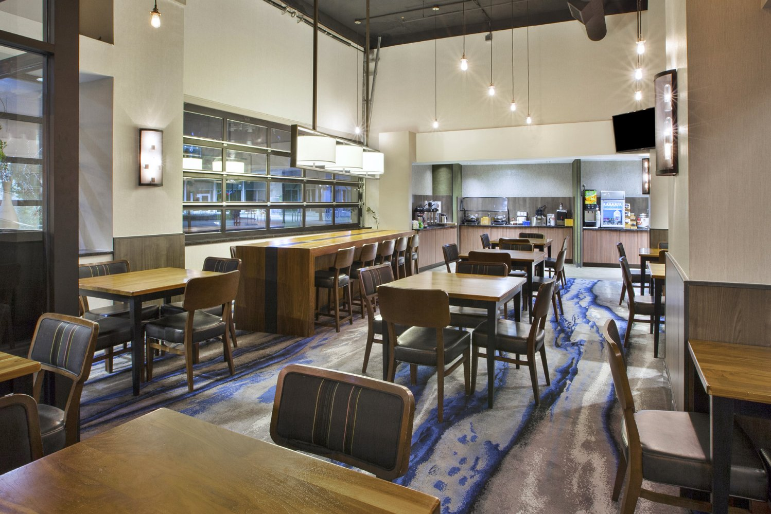Fairfield Inn & Suites Milwaukee Downtown improved 103 guestrooms, public spaces and corridors.