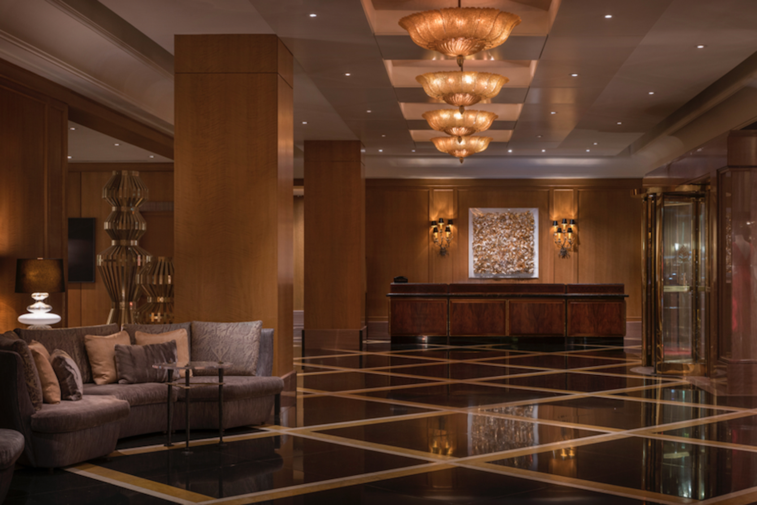 BAMO (SF) returned after 15 years to renovate the Four Seasons Boston.
