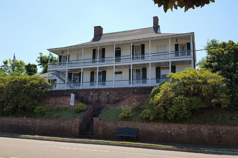 One of Natchez's oldest structures is the West-Indies-styled House on Ellicott Hill. Photo courtesy of Visit Natchez.