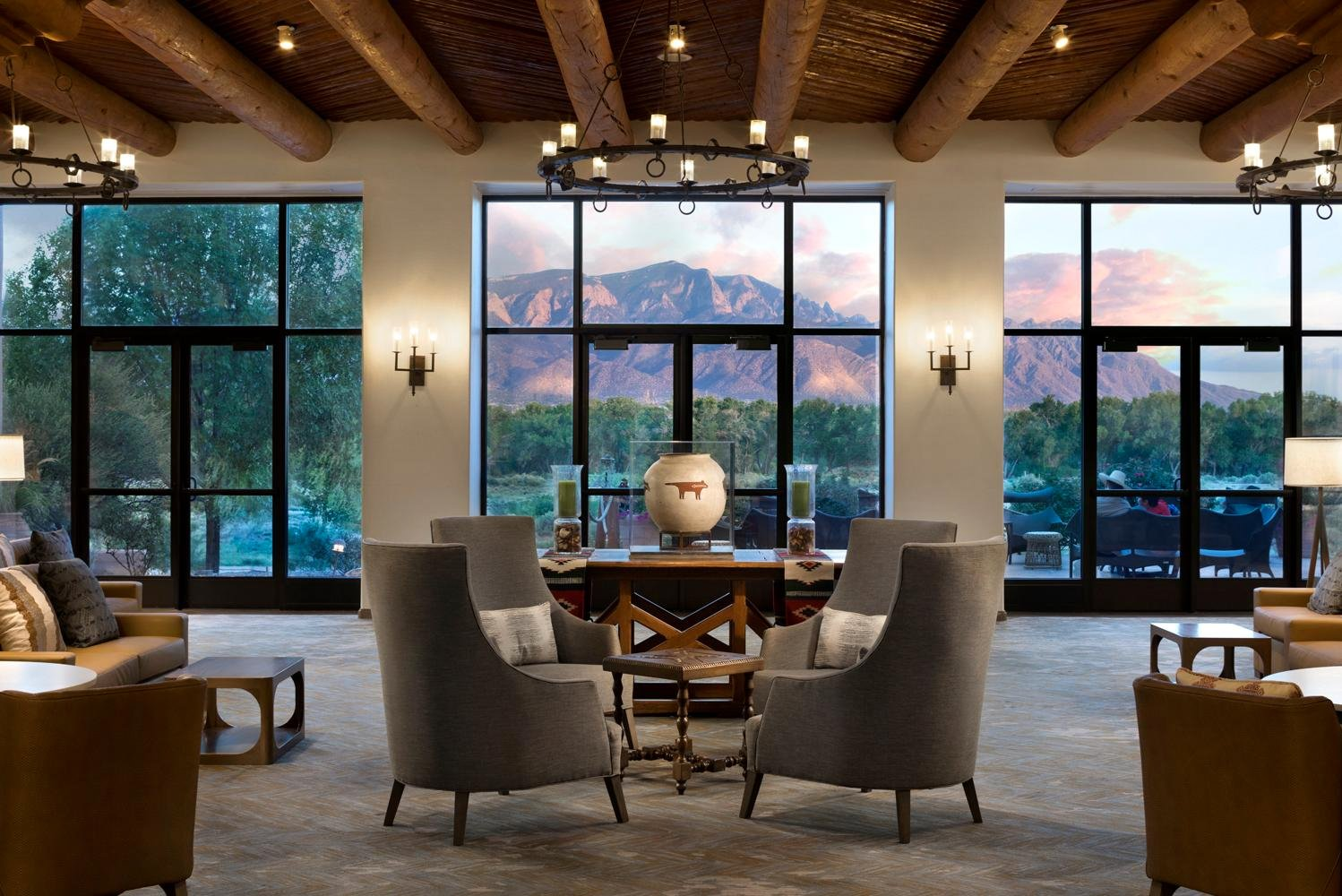 Hyatt Regency Tamaya Resort & Spa completed a $2.5 million renovation to its reception, living room and public spaces.