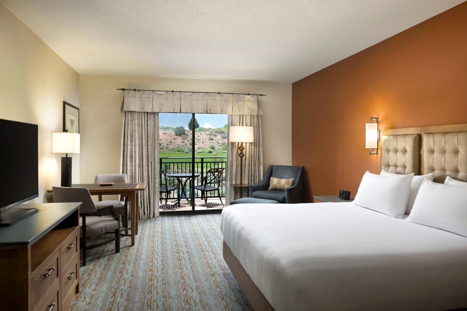 The updates to the resort's public spaces complements the $5 million guestroom renovation completed in 2017.