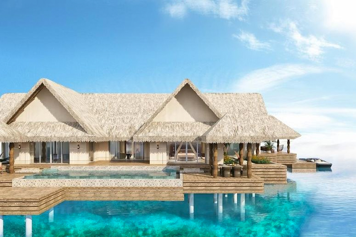 Joali Maldives is scheduled to open on October 1.